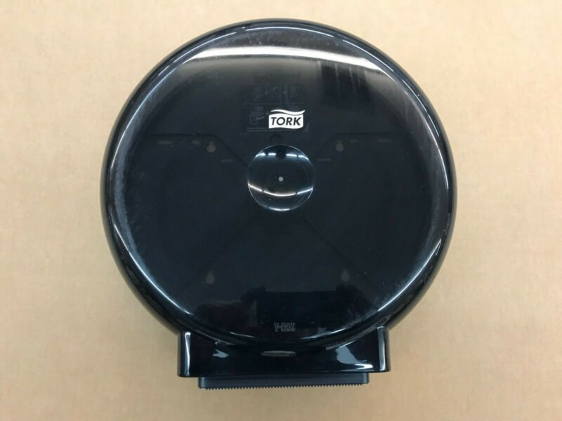 tork hygiene bathroom paper dispenser 24.00.82 black in color