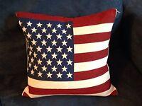 1 Cuscino Bandiera Americana Usa Stati Uniti America Flag 40x38 Cm Nuovo -  - ebay.it