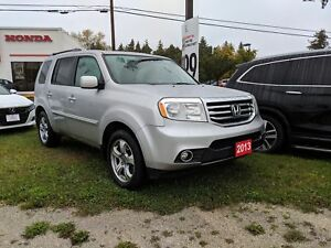 2013 Honda Pilot EX-L w/DVD! 4WD! LEATHER! SUNROOF!
