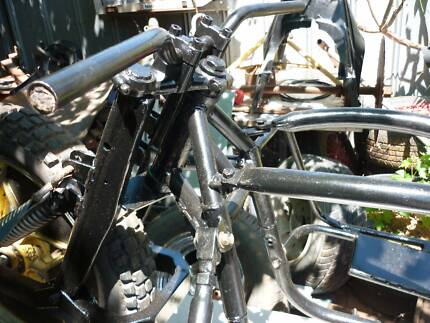 classic speedway sidecar 1980s lowliner rolling frame