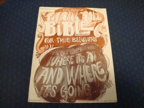 JOE ROTHIAANS THE ROCK AND ROLL BIBLE