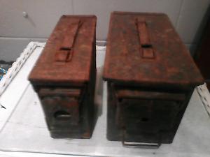 Ammunition boxes Cairns Cairns City Preview