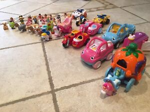 Lot of over 30 Wow brand toys