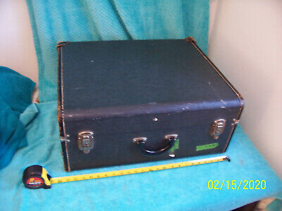 Imperial Chicago Gray 120 bass  Accordion case only Accordian used Cond Suitcase