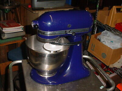 Kitchen Aid Ultra Power Royal Blue 4 12 Qt Stand Mixer