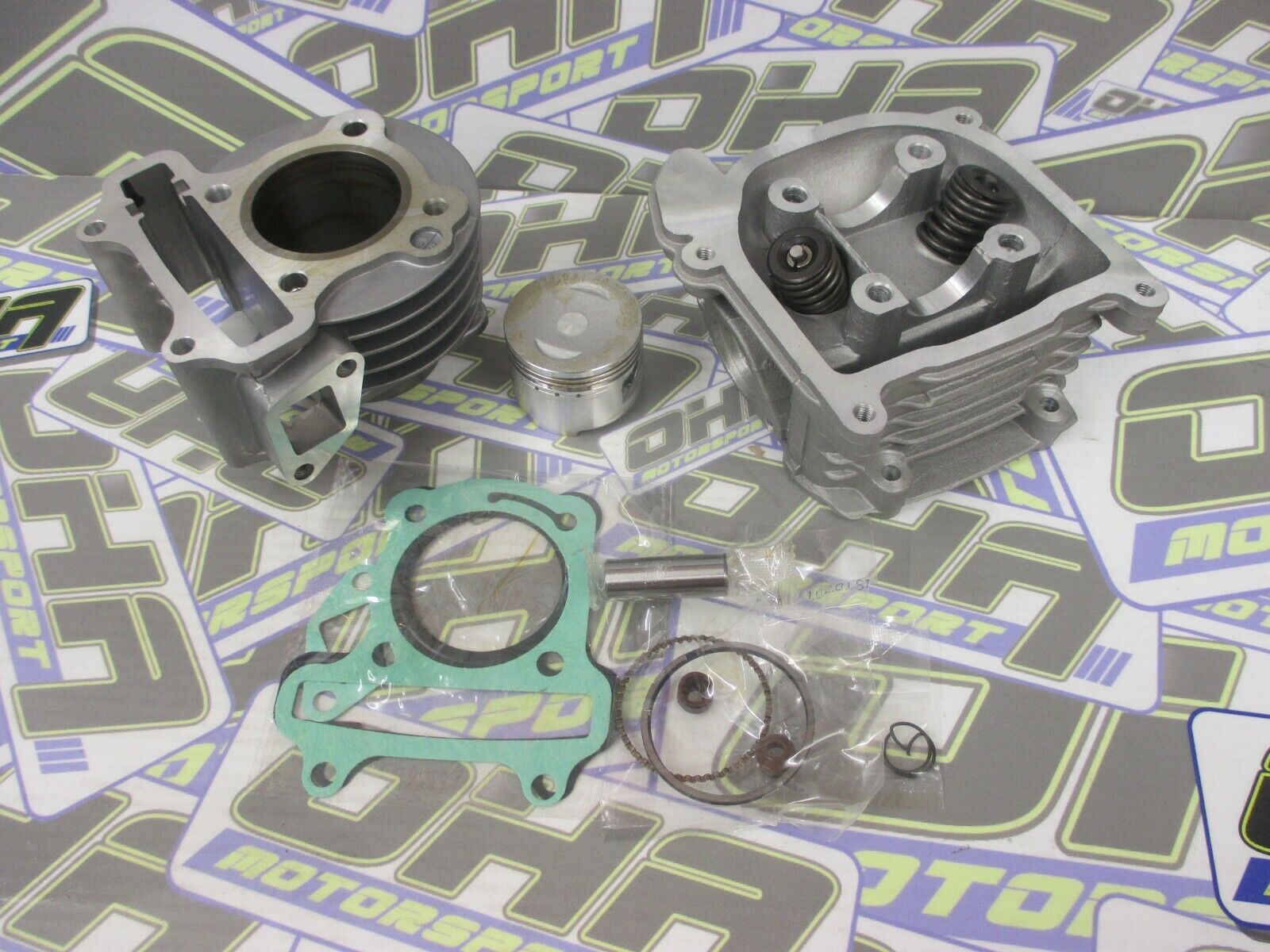 SYM Symply 50cc Exhaust Stud and Nut Set
