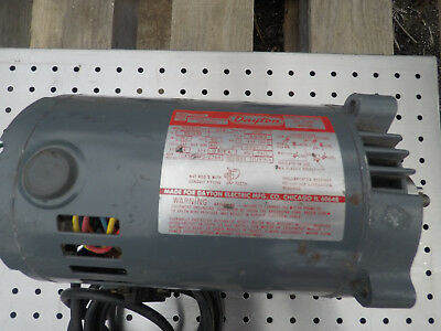 Dayton 34 Hp Electric Motor 120230 Volt 1 Phase