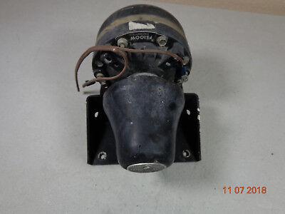 Federal Signal Fs100 100 Watt Police Public Safety Siren Speaker W Bracket P8