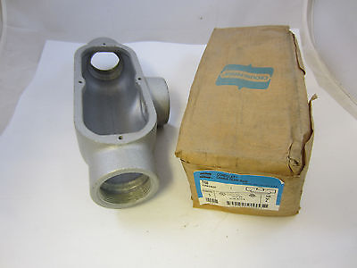 Crouse Hinds T68 Form 8 Malleable 2 T Condulet New