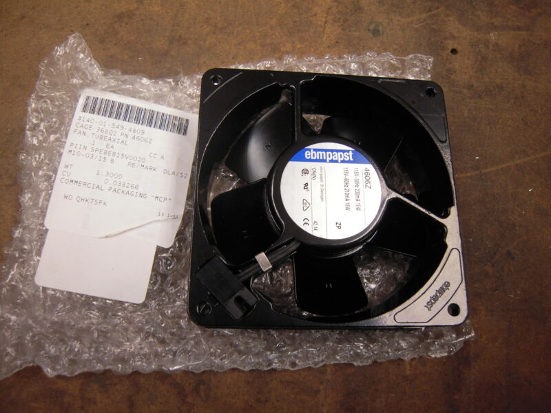 NEW EBM Papst 4606Z Axial Cooling Fan Electronics, Computer, Industrial 115v