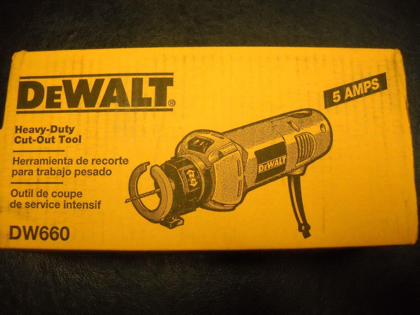 Dewalt DW660 5.0 Amp 30,000 RPM Cut-Out Tool
