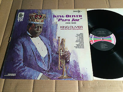 KING OLIVER AND HIS DIXIE SYNCOPATORS - PAPA JOE  (1926 - 1928) - LP - COPS 1955
