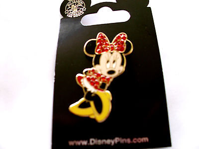 Disney Character Clothes (Disney * MINNIE - Jeweled Red Dress & Bow * New on Card Character Trading)
