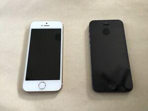 1 iPhone 5s 32gb; 1 iPhone 5C 32gb