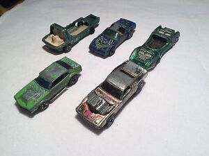 Vintage Hot Wheels (a few Redlines)