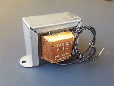 Stancor P-8130 12.6v 2a Filament Tube Transformer 12.6 Volt 2 Amp