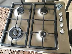 Bosch 60cm 4 burner S/S gas cooktop Halls Head Mandurah Area Preview