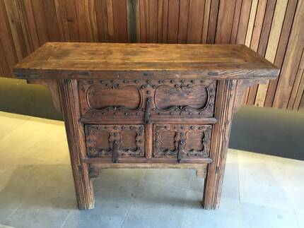 Antique Asian sideboard Edgecliff Eastern Suburbs Preview
