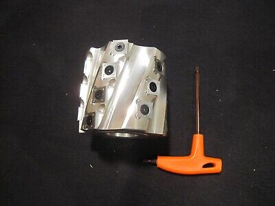 Spiral Shaper Cutter Head Indexable Carbide Inserts With Wrench - Usa Ship