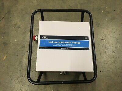 Spx Otc In-line Hydraulic Tester 4221 C-75 Gpm Nsn4940-01-090-8229