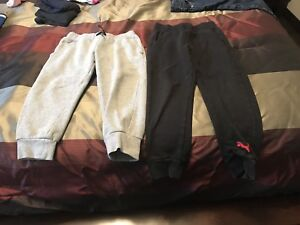 Toddler Boys Hurley And Puma Sweats Size 5