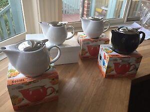4 brand new teapots in boxes Frankston South Frankston Area Preview