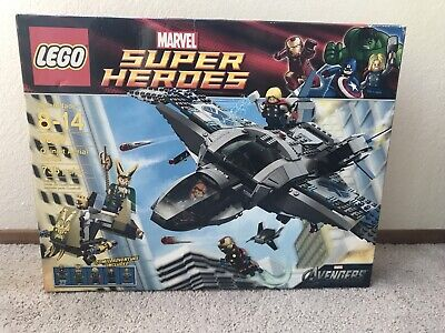 LEGO Marvel Super Heroes Quinjet Aerial Battle (6869) - New and Sealed