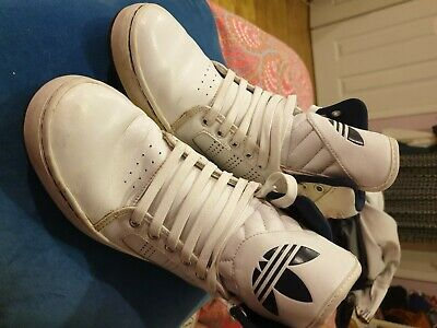 Adidas high tops. size 7. used but good condition.