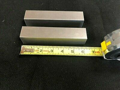 1-14 Square Steel 12l141018 Bar Plate 6.00 Long 2 Pieces Lathe Or Milling