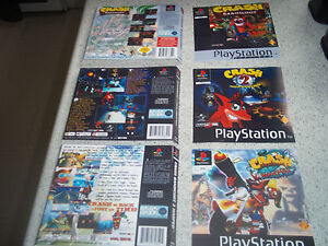 PS1 Replacement Game Case Art Sleeves/Insert.REPRODUCTION.NO GAME.