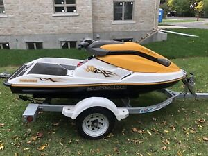 2004 Seadoo 3D standup jet ski for sale with trailer