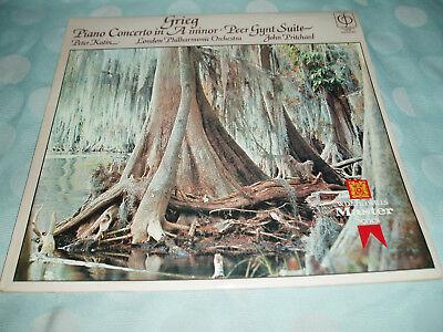 Grieg Piano Concerto A Minor & Peer Gynt Suite Peter Katin Vinyl LP CFP160 M/M.