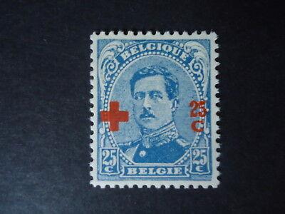Belgique Belgîe Belgium year1918 -  cob:156 MH*