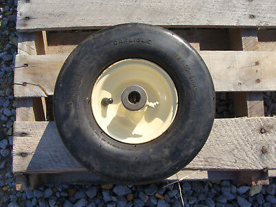 Howse Mower Wheels Tire Finish Mower