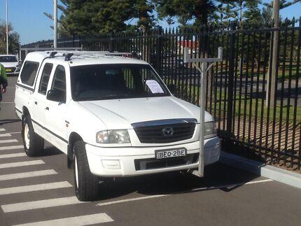 Ute, Mazda Bravo 4WD twin cab Charlestown Lake Macquarie Area Preview