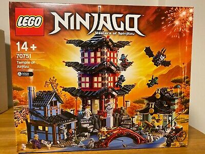 Lego Ninjago 70751 - Temple of Airjitzu **NEW/SEALED** damaged box