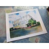 """The Office (Painting of Dunder Mifflin) 11"""" x 14""""  Collector's Poster Print"""