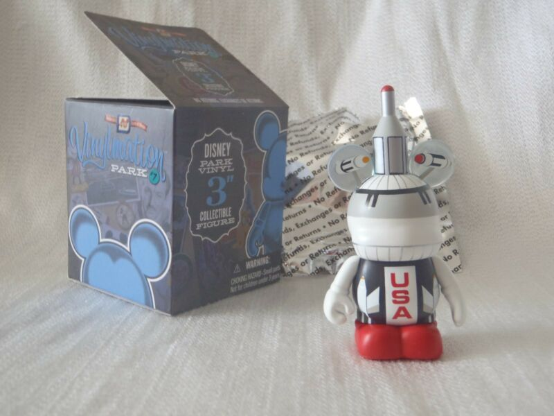 "Disney Vinylmation Park #7 Magic Kingdom STAR JETS Tomorrowland Mickey 3"" Figure"