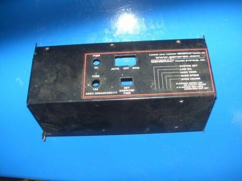 Generac Control Cover Plate (Long)