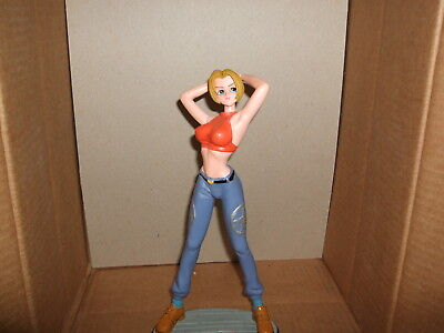 King of Fighters/Fatal Fury Blue Mary Resin Statue