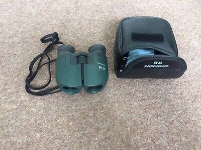 CH Chinon binoculars 10-21x23 RB zoom compact coated lens in case