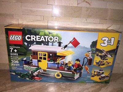 LEGO CREATOR SET 31093 RIVERSIDE HOUSEBOAT