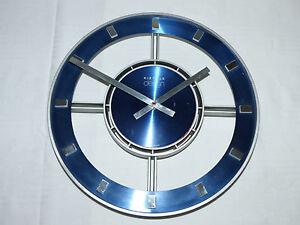 Kienzle Design Uhr Wanduhr Wohnzimmeruhr Vintage 70iger Design Klassiker