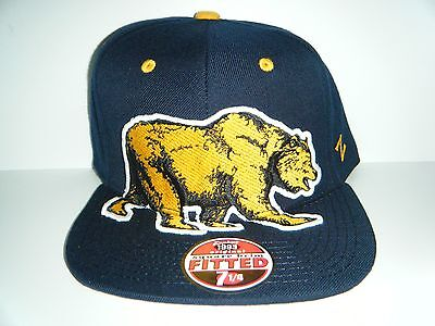 University Cal Berkeley Golden Bears  Menace Authentic Size 7 1/4 FITTED Hat
