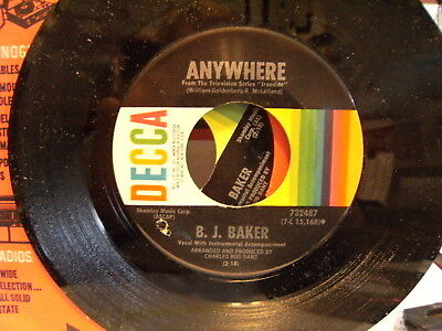 60's Theme (MOD 60s cut B.J. BAKER Anywhere/theme from Ironside DECCA )