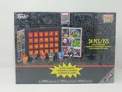 Funko Marvel Pocket Pop Advent Calendar 2019 Gamestop Exclusive
