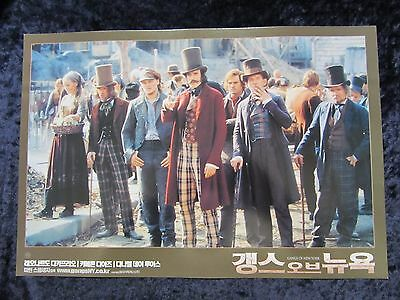 Gangs Of New York  lobby card # 5 Daniel Day Lewis,  Leonardo Dicaprio