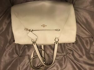 Off white Coach purse
