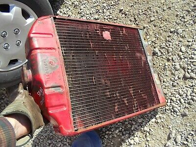 Massey Ferguson To35 Gas Tractor Good Engine Motor Radiator Assembly W Shroud