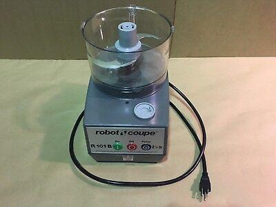Robot Coupe R 101 B Clr Commercial Food Processor 2.5-qt Clear Polycarbonate